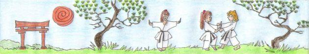Karate Training im Freien
